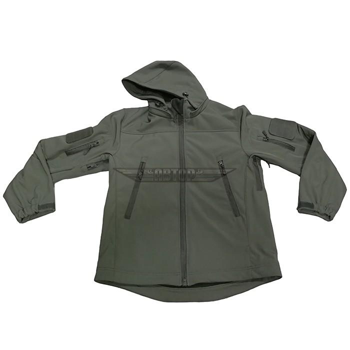 Куртка софтшелл олива, Куртки - арт. 994640156