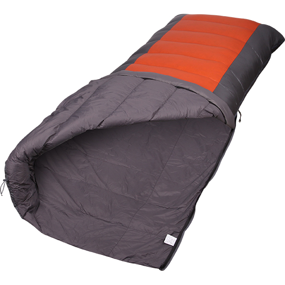 Спальный мешок одеяло Cloud light пуховый серый/терракот 200x80, Постельные принадлежности - арт. 995540397
