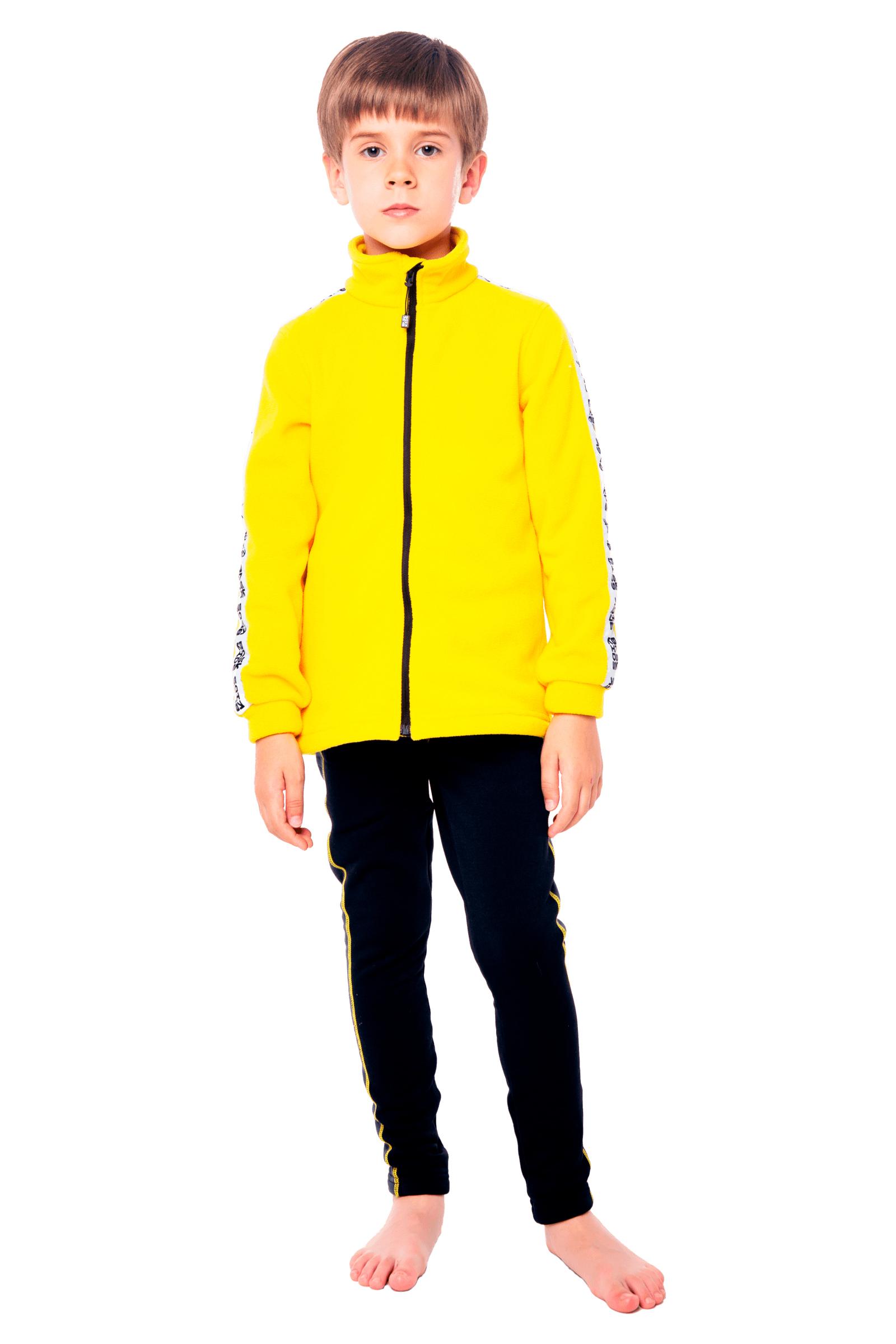 Купить Куртка флисовая детская BASK kids PIKA желтая, Компания БАСК