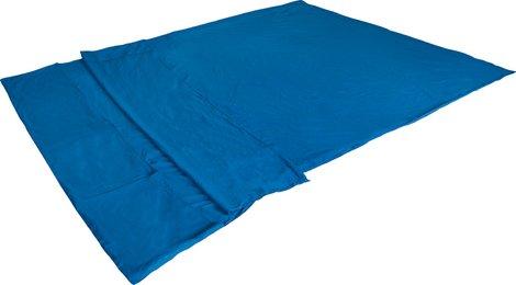 Вставка в мешок спальный Cotton Inlett Double синий, 225х180 см, 23508, Кемпинговые (Лето) спальники - арт. 617800372