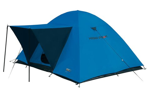 Палатка Texel 3 синий/серый, 220х180 см, 10175