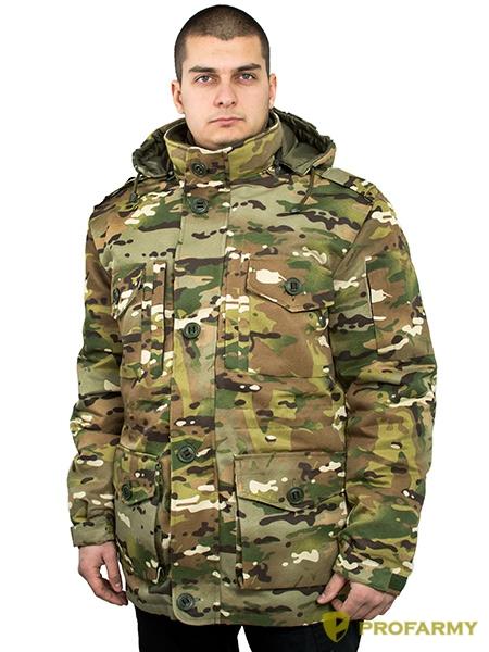 Куртка Смок-3 смесовая мультикам, Демисезонные куртки - арт. 1053120334