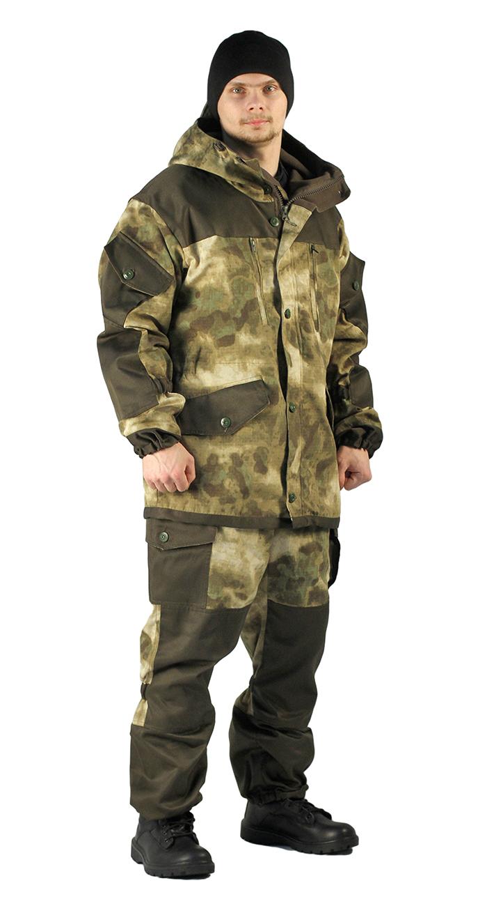 Купить Костюм демисезонный ГОРКА куртка/брюки, цвет: кмф Атака, ткань: Твил рип-стоп/Грета, Ursus