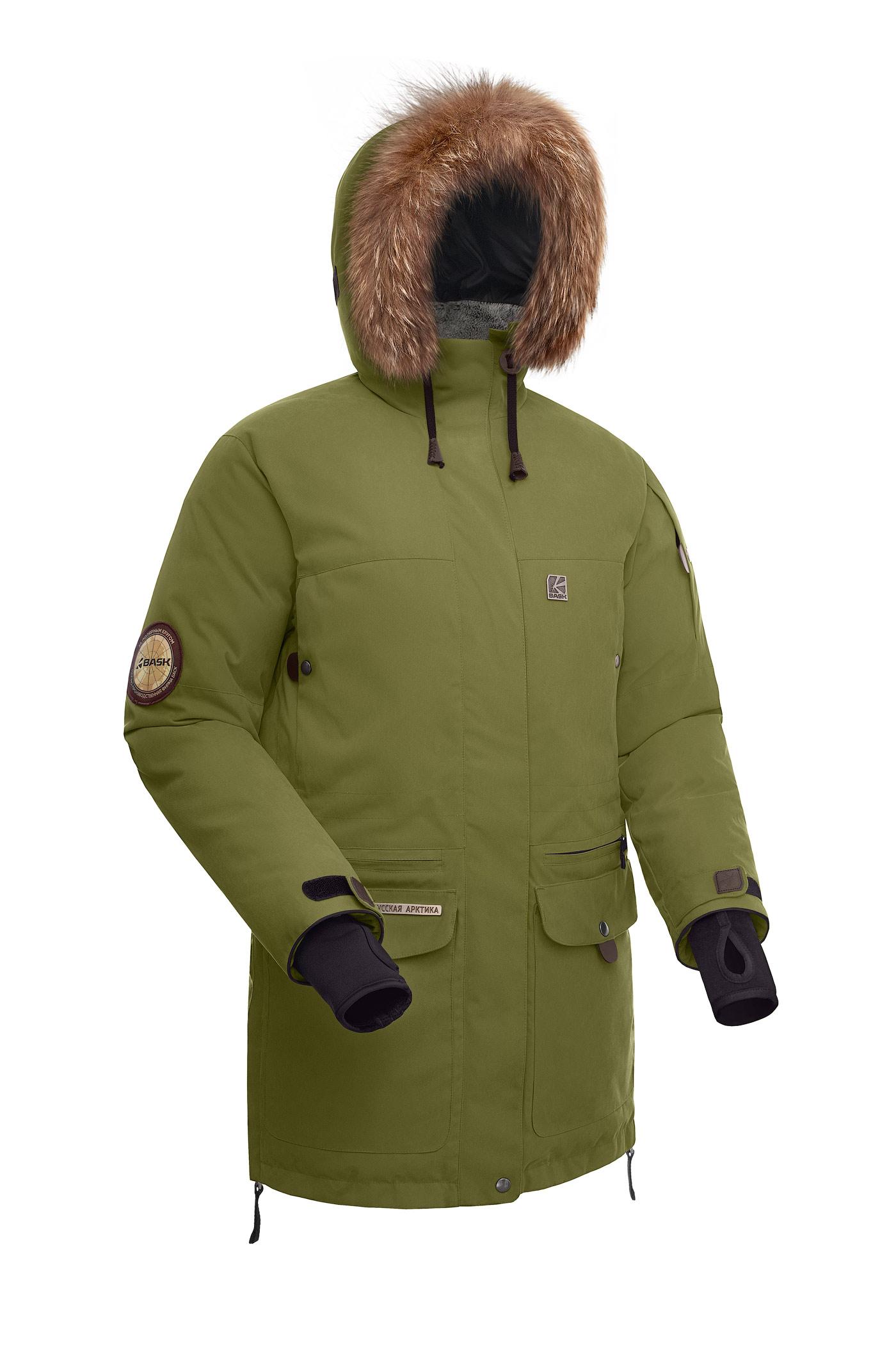 Купить Куртка женская BASK ONEGA хаки светлый, Компания БАСК