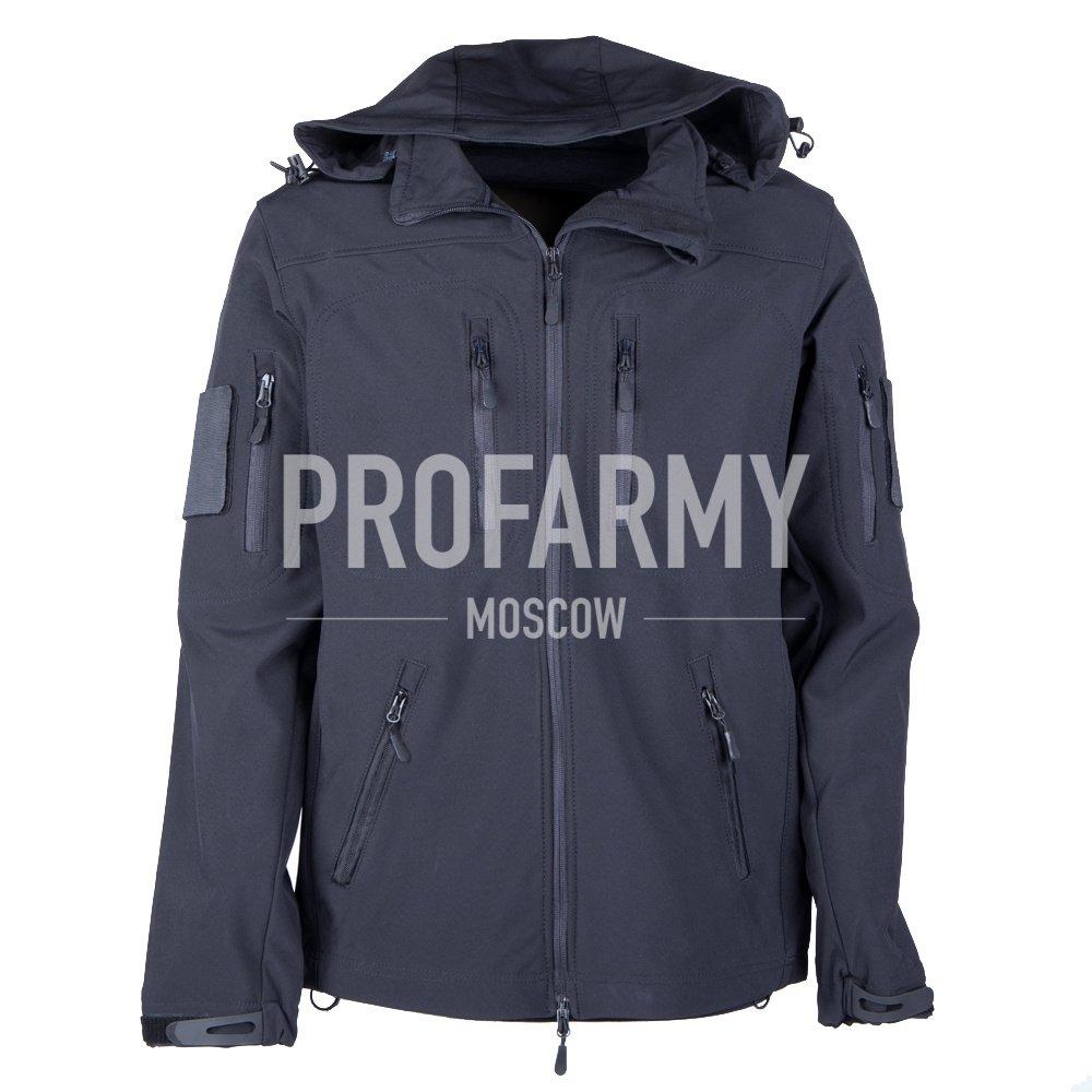 Куртка Softshell (черный), Куртки из Softshell и Windbloc - арт. 865200329