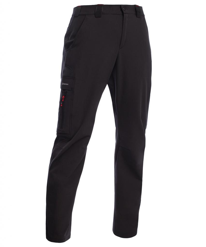 Брюки BASK SFT TREK MP черные, Демисезонные брюки - арт. 971110350