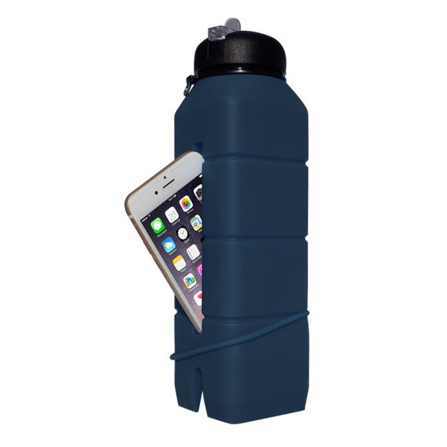 Бутылка-динамик из силикона Ace Camp Silicone Sound Bottle 1583 Синяя/769мл - артикул: 816240196