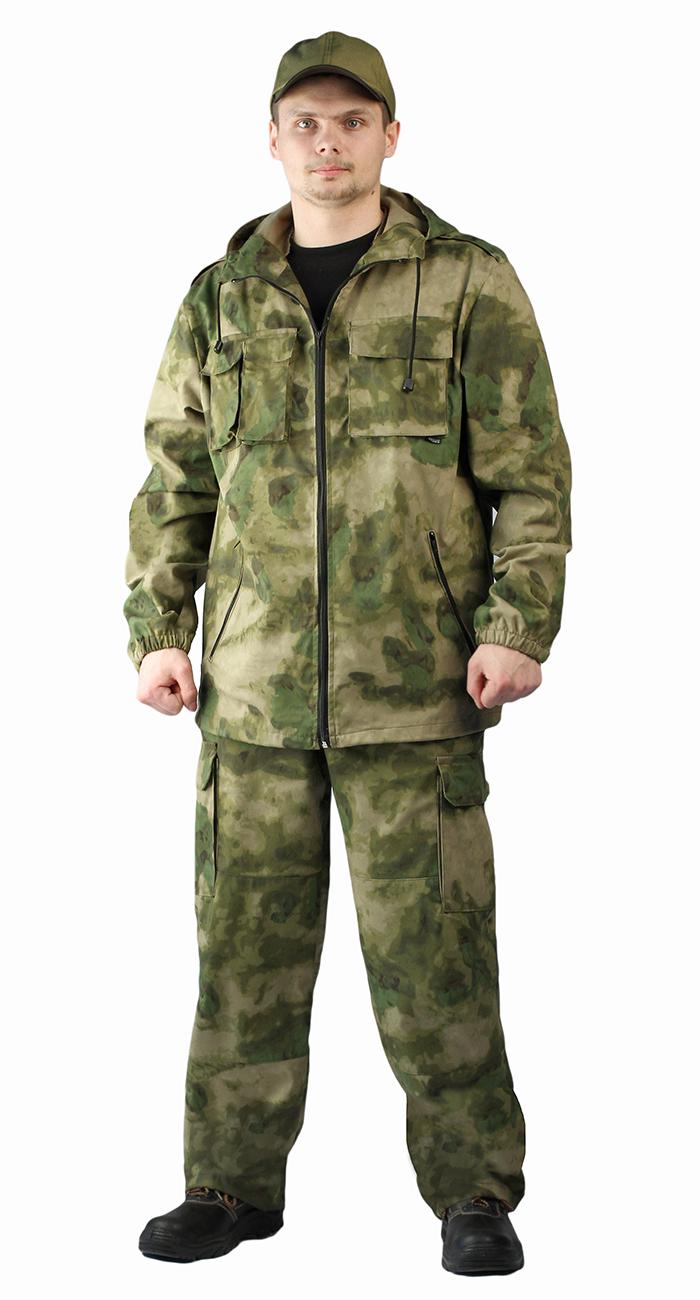 Костюм мужской Турист 2 летний, камуфляж Твилл Пич АТАКС, Летние костюмы - арт. 1004890260