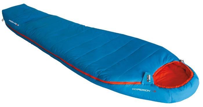 Мешок спальный Hyperion -5 голубой/оранжевый, 82х225 см, 1675 г, 23370, Спальники - арт. 1039400165