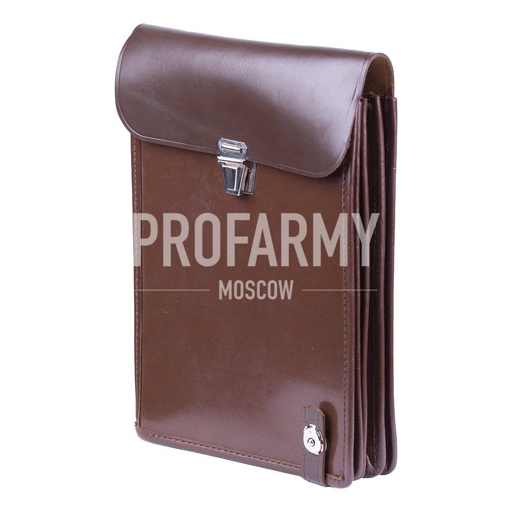 Планшет офицерский коричневый
