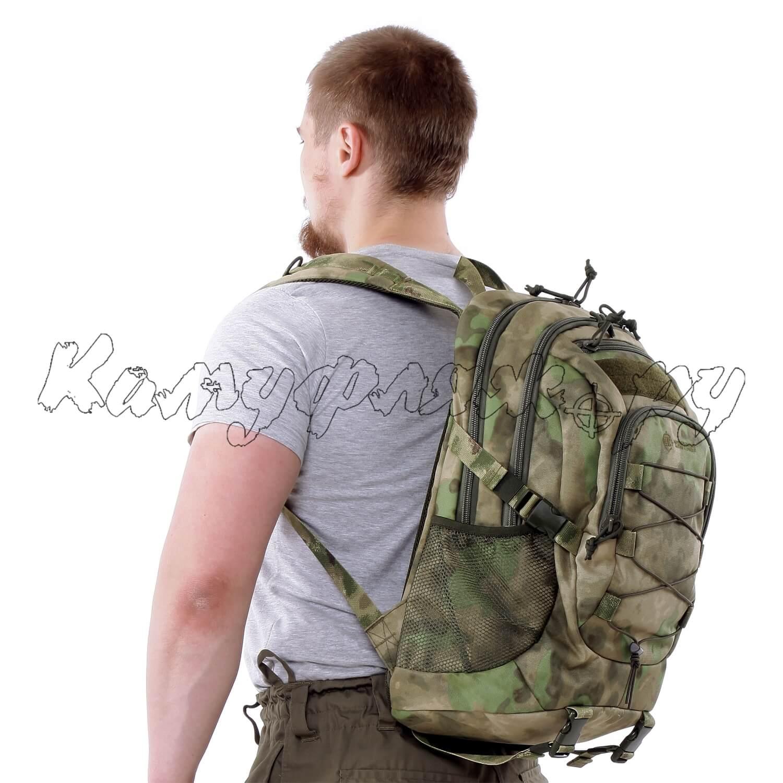 Рюкзак KE Tactical 1-Day Mission 25л Nylon 900 Den A-Tacs FG, Тактические рюкзаки - арт. 990160264