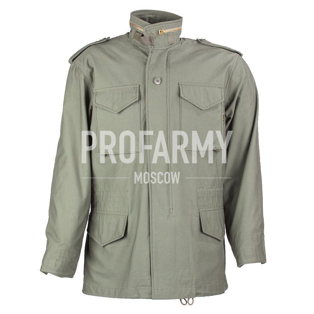 Куртка Альфа М-65 (олива), Тактические куртки - арт. 899650335
