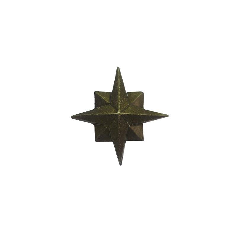 Знак различия Звезда МЧС 18мм полевая металл