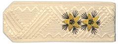 Купить Погоны ВМФ вице-адмирал на кремовую рубашку повседневные