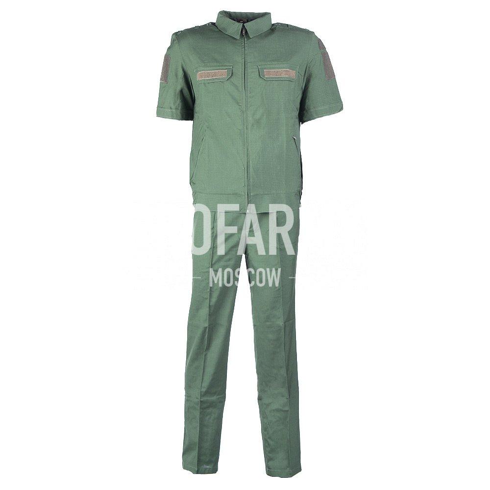 Костюм Штабной короткий рукав(олива), панацея рип-стоп, Форменные костюмы - арт. 862950247