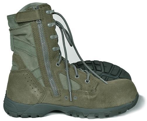 Купить Легкие тактические ботинки (берцы) на молнии TR 696ZCT, Tactical Research Belleville
