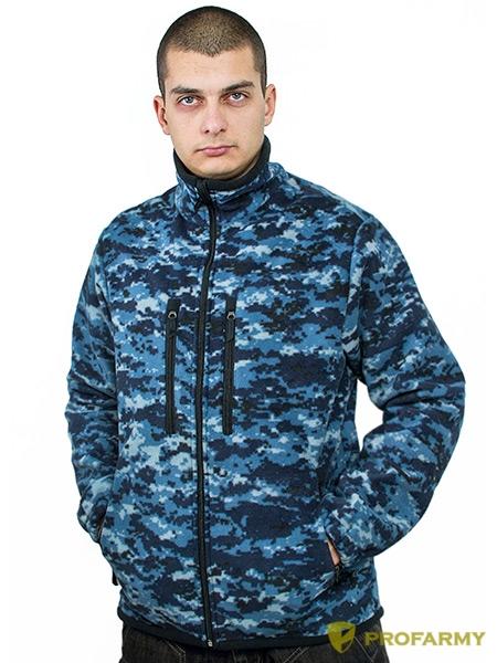 Куртка флис HUSKY MPF-19 цифра МВД, Куртки из Polartec и флиса - арт. 1067240330