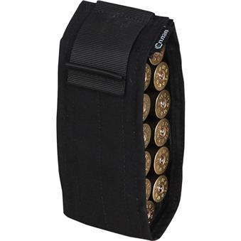 Подсумок-патронташ для 12 патронов 12 калибра черный