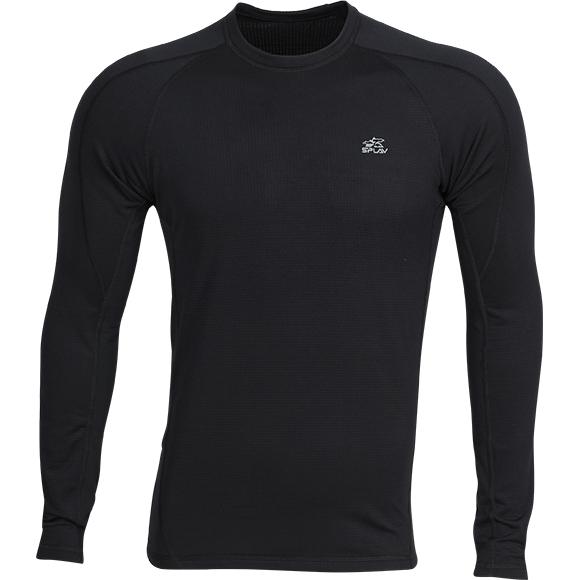 Купить Термобелье футболка L/S Gulf Stream light черная, Компания «Сплав»