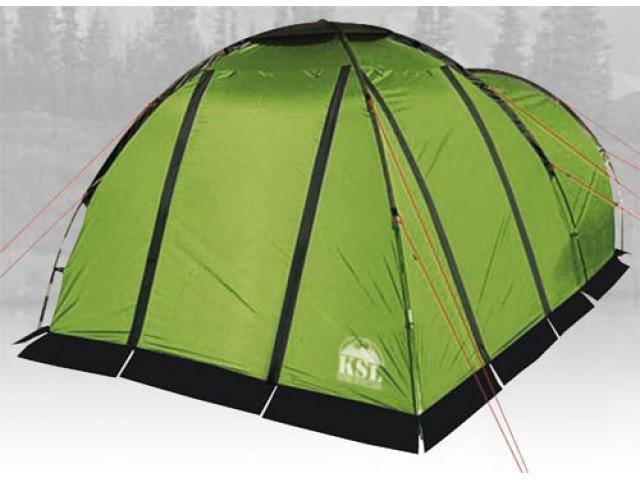 Палатка KANZAS 4 green 420x240x170 cm, 6160.4201, Палатки четырехместные - арт. 1012810322