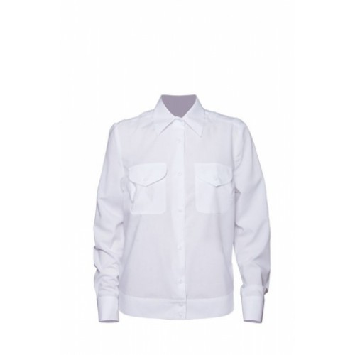 Рубашка Полиция белая, длинный рукав, на резинке