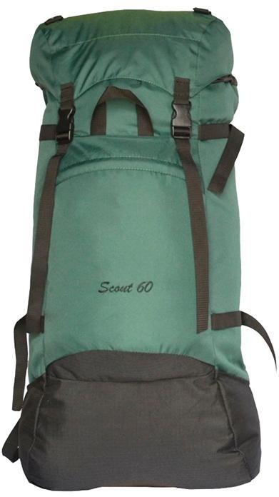 Рюкзак Скаут 60л цвет темно-зеленый, Рюкзаки для горных лыж и сноуборда - арт. 405050286