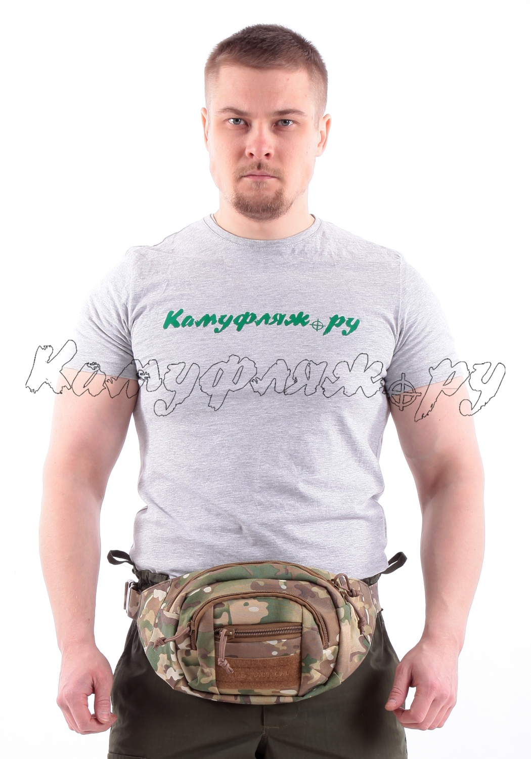 Сумка на пояс KE Tactical 1-Day Mission 2,5 литра Cordura 1000 Den multicam