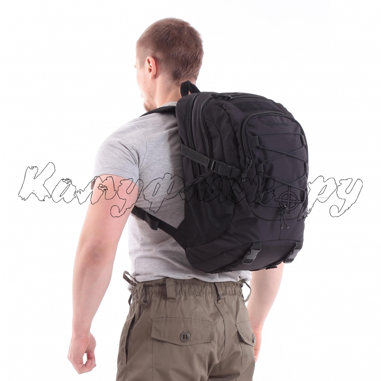 Рюкзак KE Tactical 1-Day Mission 25л Polyamide 500 Den черный, Тактические рюкзаки - арт. 1004340264