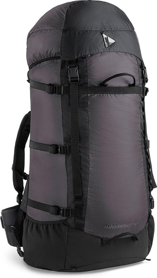 Рюкзак BASK ANACONDA 130 V4 черный/серый тмн, Рюкзаки для горных лыж и сноуборда - арт. 303400286