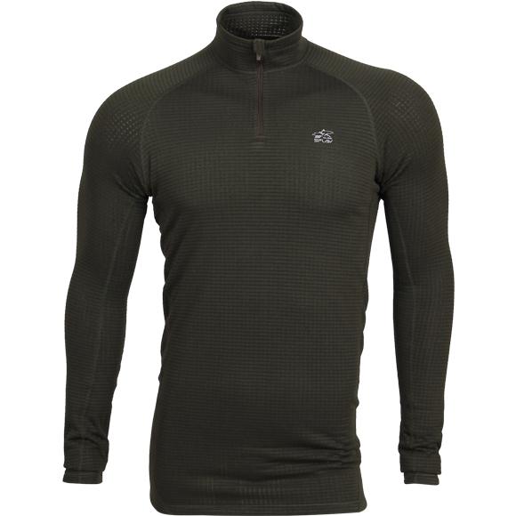 Термобелье Циклон футболка L/S темно-зеленая, Футболки - арт. 1004970179