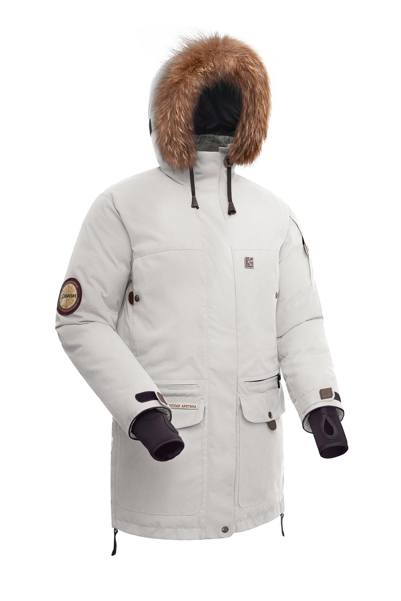 Купить Куртка пуховая женская BASK IREMEL белый, Компания БАСК