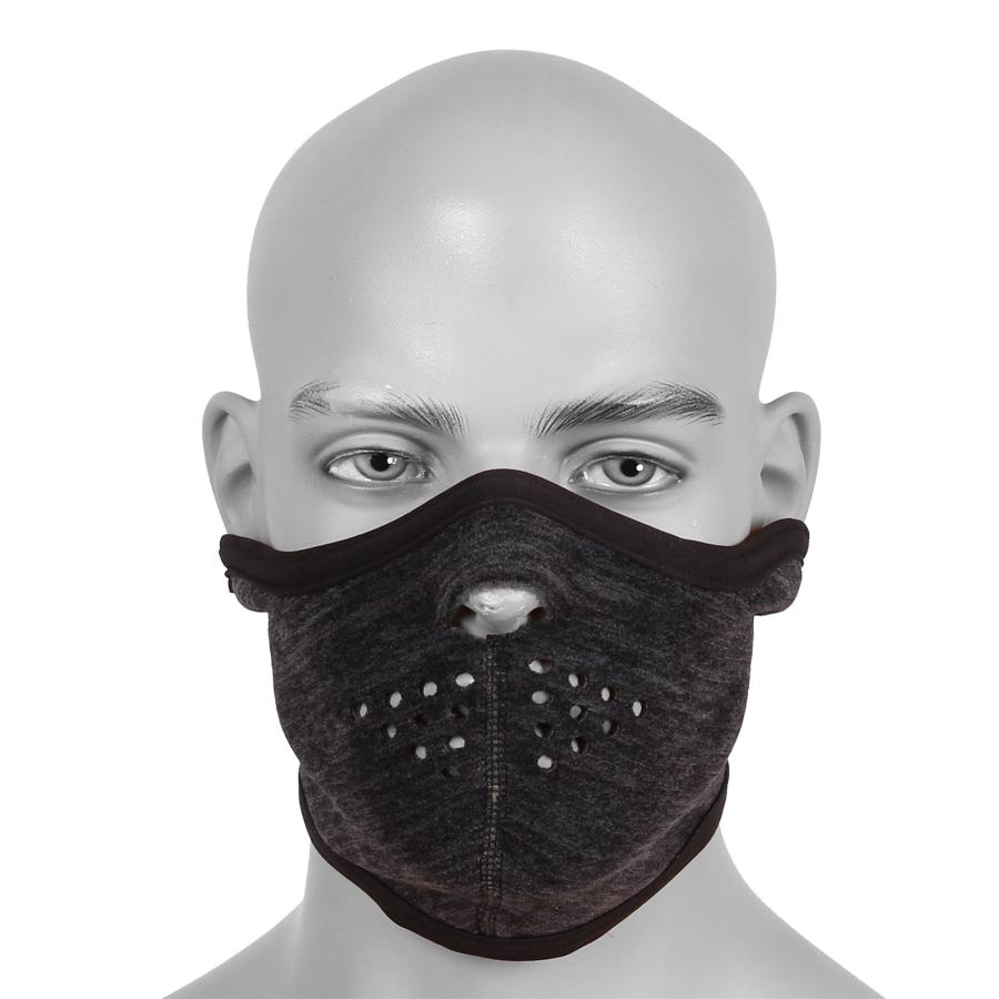 Купить Маска защитная флисовая серо-черный меланж, Компания «Сплав»