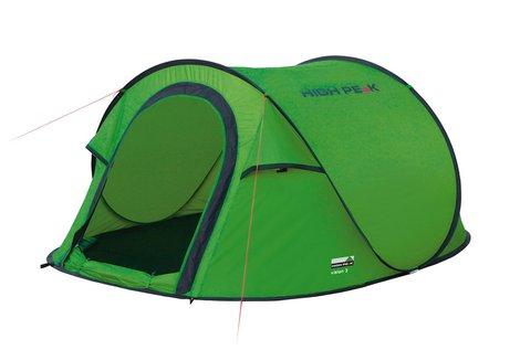 Палатка Vision 3 зелёный, 180х235 см, 10123, Палатки трехместные - арт. 825180321