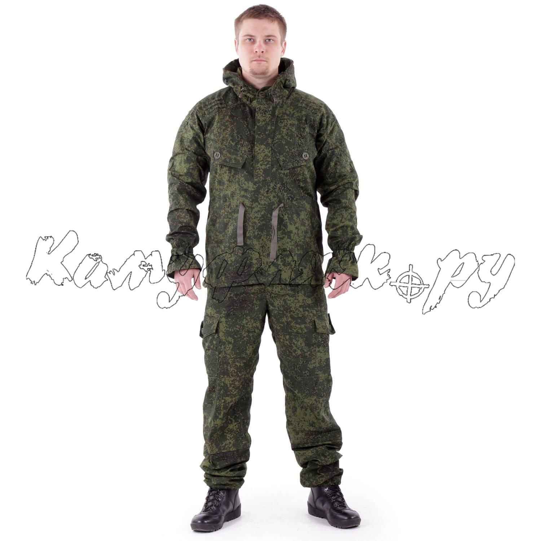 Костюм Снайпер-2 анорак рип-стоп с налокотниками и наколенниками ЕМР, Тактические костюмы - арт. 1013760259