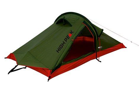 Палатка Siskin зелёный/красный, 230х120х90, 10183