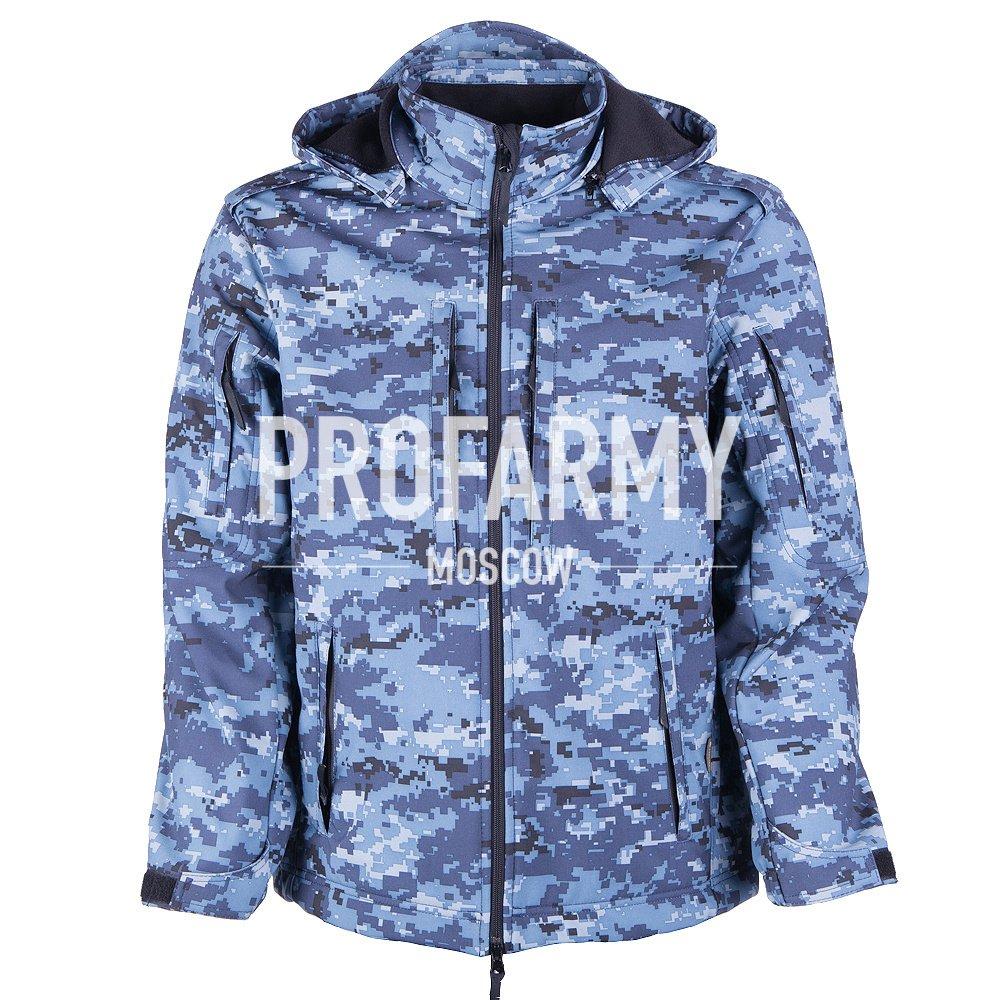 Куртка Mistral XPS19-4 цифра МВД, Куртки из Softshell и Windbloc - арт. 865150329