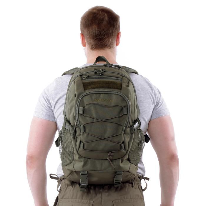 Рюкзак KE Tactical 1-Day Mission 25л Cordura 1000 Den олива темная, Тактические рюкзаки - арт. 991300264