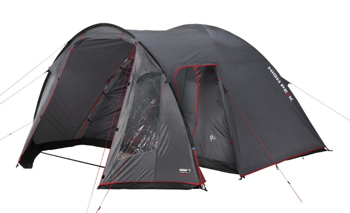 Палатка Tessin 5 тёмно-серый, 300х390х190см, 10227, Палатки кемпинговые - арт. 1039480324