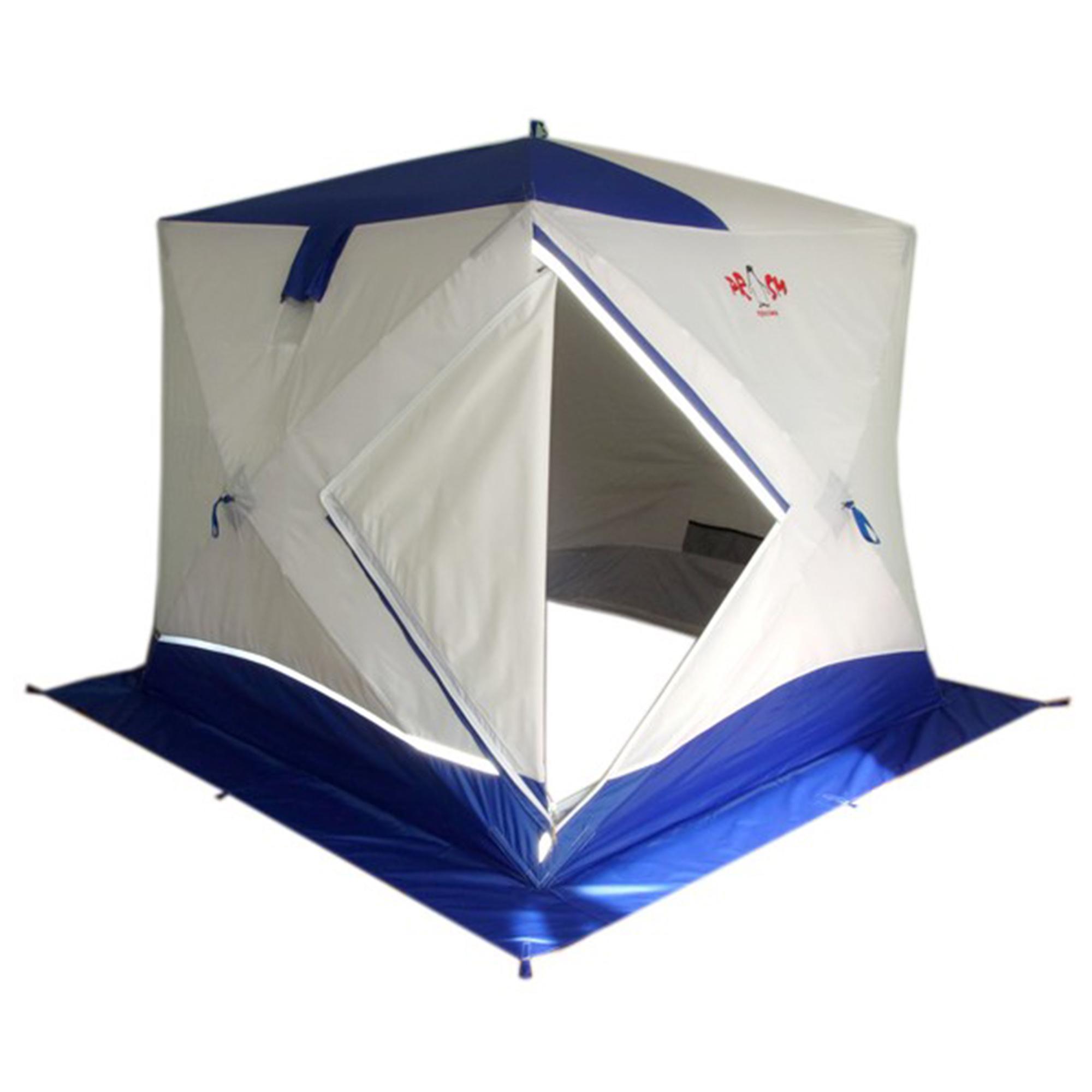 Палатка-куб ПИНГВИН Призма Премиум STRONG (2-сл. 225*215), Палатки - арт. 1128460162