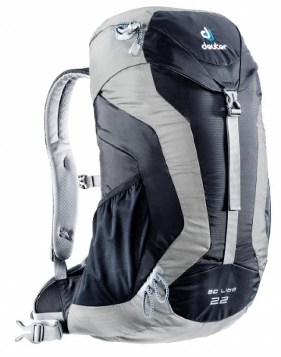 Рюкзак Deuter 2015 Aircomfort AC Lite AC Lite 22 black-silver, Велосипедные рюкзаки - арт. 518720281