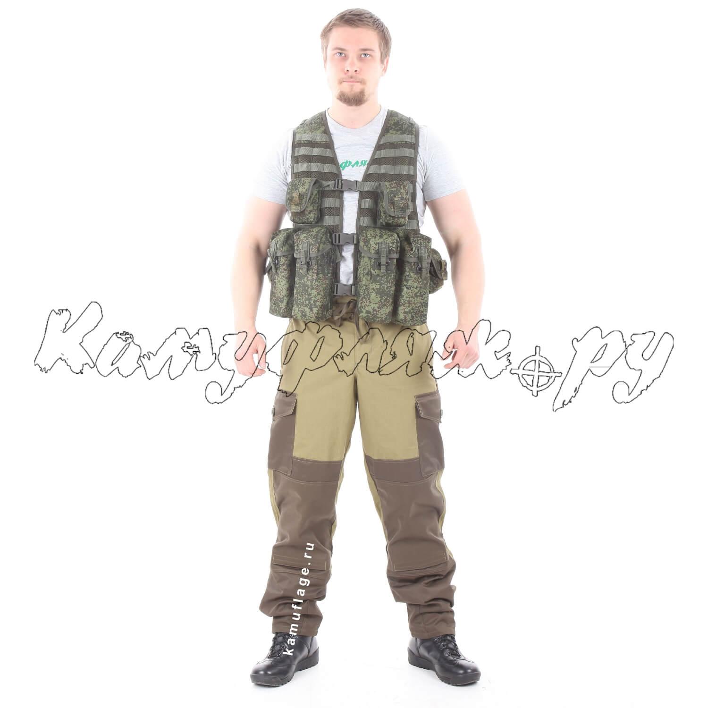 Жилет KE Скорпион с патрульными подсумками ЕМР, Жилеты - арт. 1013870184