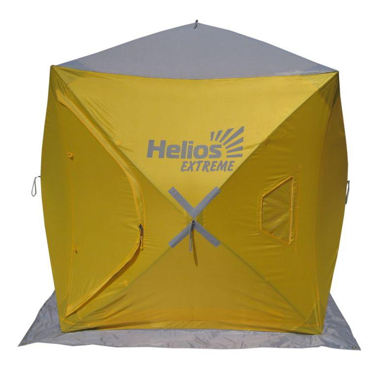 Палатка-куб зимняя Helios EXTREME (1,5х1,5, HW-TENT-80059-1, бур-ввертыш 8 шт. в комплекте), Палатки для охоты и рыбалки - арт. 1128300375