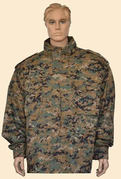 Куртка М-65 в комплекте диджитал, Тактические куртки - арт. 899680335