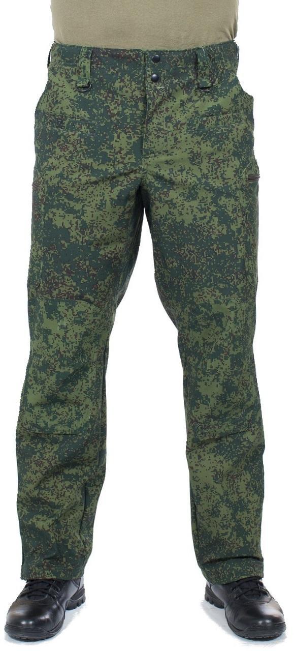 Брюки МПА-41 (ткань Софтшелл), камуфляж зеленая цифра - артикул: 373310346