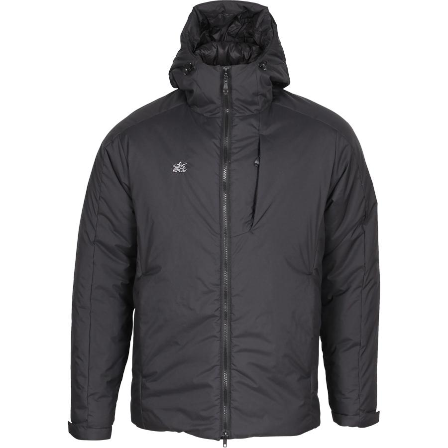 Куртка утепленная Course черная, Зимние куртки - арт. 1033630333