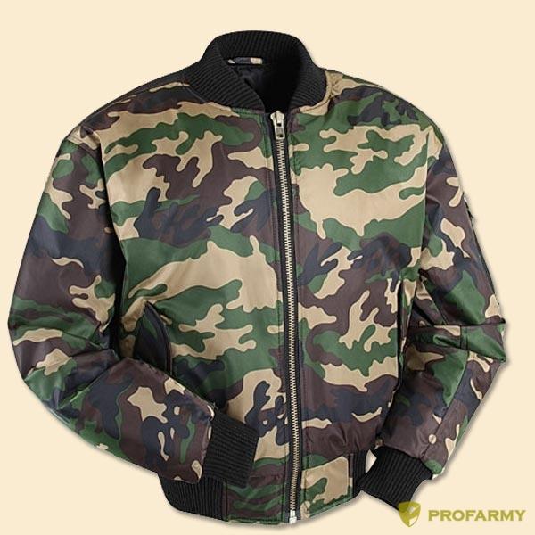 Куртка Пилот (твил) лес