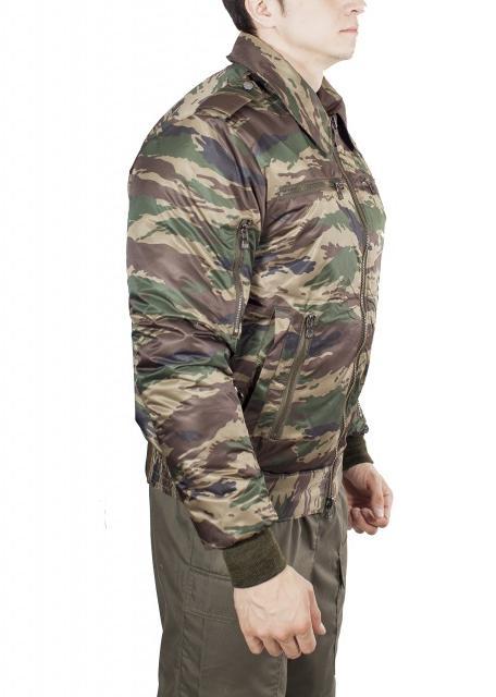 Куртка демисезонная МПА-34 (Пилот), камуфляж зеленый камыш твил/файбертек