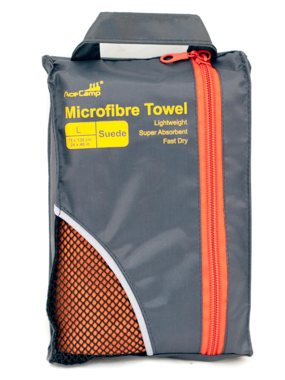 Полотенце из микрофибры Microfibre Towel Suede L, 5183, Туалетные принадлежности - арт. 816420398