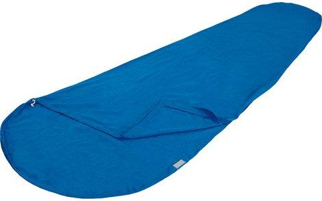 Вставка в мешок спальный Cotton Inlett Mummy синий, 225 см длина, 23506