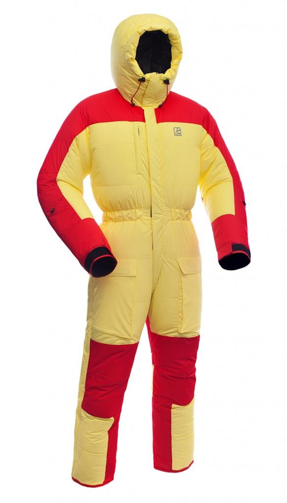 Купить Комбинезон пуховый BASK ULTIMATE V2 желто/красный, Компания БАСК